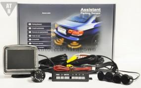 Czujniki parkowania z kamerą podświetlaną i wyświetlaczem TF 301