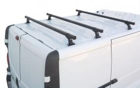 Bagażnik dachowy CRUZ 2 lub 3 belkowy do samochodów użytkowych Van CRUZ 923 xxx
