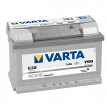 Varta Silver 74Ah  750A E38  Dostawa Gratis