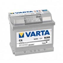 Varta Silver 52Ah  520A C6  Dostawa Gratis