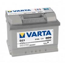 Varta Silver 61Ah  600A D21  Dostawa Gratis