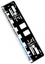 Ramki pod tablice rejestracyjne z reklamą 100szt HURT SITODRUK