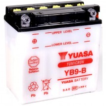 Akumulator motocyklowy YUASA YB9-B 9Ah
