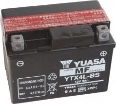 Akumulator motocyklowy YUASA YTX4L-BS 3Ah