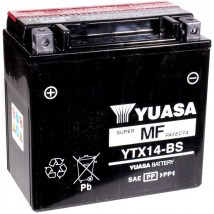 Akumulator motocyklowy YUASA YTX14-BS 12Ah