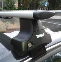 Bagażnik dachowy Thule Rapid System 754 WingBar Do samochodów bez fabrycznych punktów