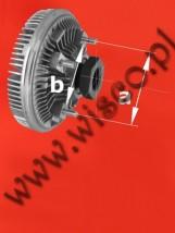 Sprzęgło wiskozowe (koparko-ładowarka CASE/NEW HOLLAND 580 oraz 695) model 81862862 Cena: 1353.00 zł brutto