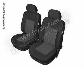 Pokrowce Samochodowe na przednie fotele PERUN front 5-1243/4/5-238-4023