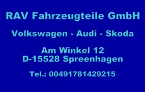 oryginalne, używane części - Audi, Volkswagen, Skoda, Seat Audi, Volkswagen, Skoda, Seat