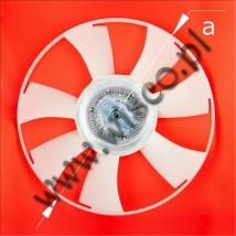 Sprzęgło wiskotyczne (MERCEDES SPRINTER 2006 z silnikiem OM646) numer A0002008123 (A0002009623) Cena brutto: 492.00 zł