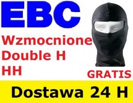 Wzmocnione klocki hamulcowe EBC lub TRW HH, SH, SV