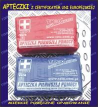 Apteczka samochodowa DIN 13164 homologacja na całą Europę