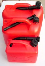 Kanister Plastikowy do Paliwa Kanister na Paliwo z lejkiem 5 L , 10 L  oraz na 20 litrów