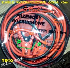 Kable rozruchowe do samochodu osobowego o pojemności do 200Amp Kable rozruchowe 120 Amp, 200Amp,400Amp,600Amp