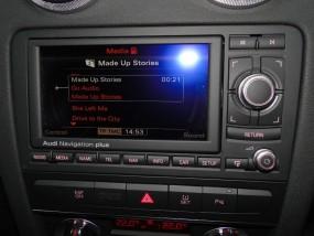 Audi rns-e różne modele A3,A4,A6 LED 2011r. rns-e aisin