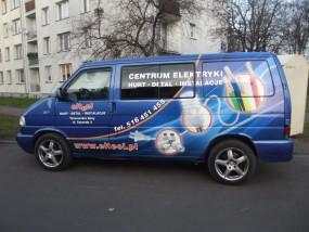 Reklama na pojazdach oraz na budynkach