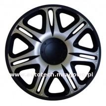 Kołpaki Nascar  silver-black 13158