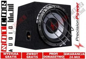 Skrzynia basowa zamknięta o pojemności 30L + głośnik basowy o średnicy Precision Power S.12.
