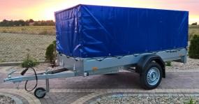 Wypożyczalnia przyczep samochodowej transportowej Brenderup 2270