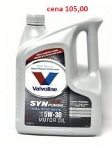Olej Valvoline 5w30 4l. Synpower XL C3