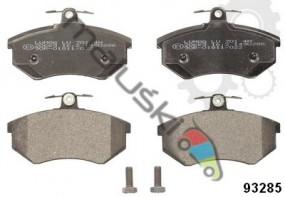Klocek hamulcowy komplet na przód GDB430 AUDI A4, 80, 90, COUPE, VW CORRADO, PASSAT