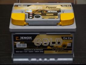 Akumulator Jenox Gold 12v 56AH 580A