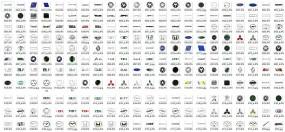 Emblematy na karoserię, Znaczki Samochodowe, Napisy samochodowe, VW, Ford, Opel, Toyota,  BMW, Nissan, Peugeot, Seat, Mercedes, Audi