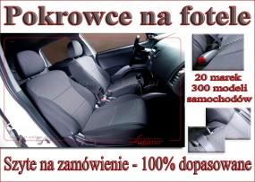 Pokrowce na siedzenia samochodowe Dopasowane 100%
