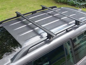 Bagażnik Aguri Runner do samochodów z relingami i relingami zintegrowa R-120/R-130