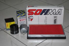 Komplet filtrów Nissan Almera II N16