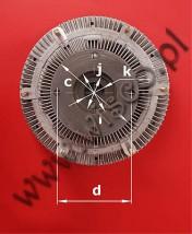 IVECO Cursor Visco-Kupplung 41213991 (41213626KA) Price: 775zł (polish złotych)