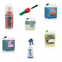 Akcesoria do mycia i pielęgnacji samochodu