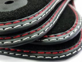 Dywaniki samochodowe przeznaczone do Audi 1994-2016 Antracytowe i czarne  nowe dywaniki wysokiej jakości