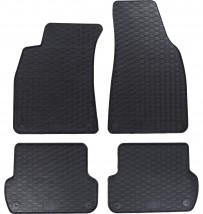 Dywaniki gumowe czarne Audi A4 B6 Audi A4 B6 (2000-2004)