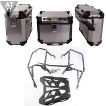 Zestaw Kufrów Aluminiowych+Stelaż BMW R1200GS